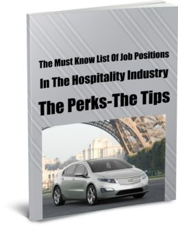 The Must Know List Of Job Positions In The Hospitality Industry