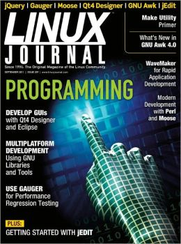 Linux Journal September 2011