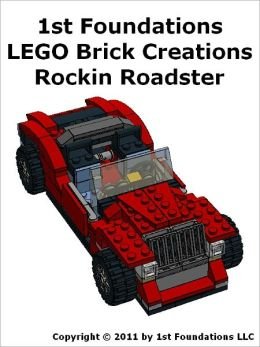 1st Foundations LEGO Brick Creations -Instructions for a Roadster