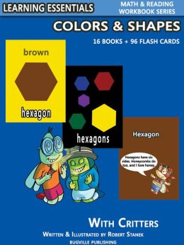 Colors & Shapes Storybooks: Educational Colors and Shapes Book for Preschool/Kindergarten Children and Toddlers (Learning Essentials Math & Reading Flashcard Series)
