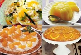 Orange Recipes: Collection of Easy to Make Delicious Orange Recipes - Because of their refreshing subacid flavor, Oranges are much eaten in their fresh state, both alone and in combination with other foods in numerous salads and desserts.