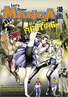 Let's Draw Manga - All About Fighting (Nook Edition)
