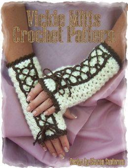 Vickie Mitts Crochet Pattern