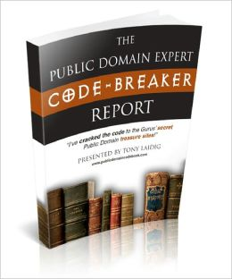 The Public Domain Expert Code Breaker Report