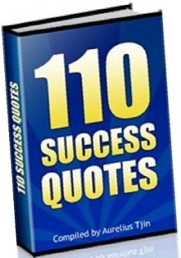 110 Success Quotes you can use every day to inspire yourself.(Study Guide)