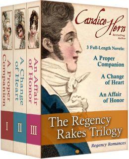 The Regency Rakes Trilogy (Boxed Set of 3 Regency Romance Novels)