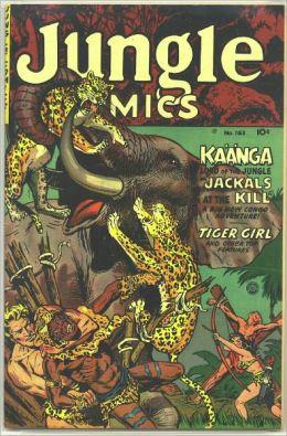 Jungle Comics Number 163 Action Comic Book
