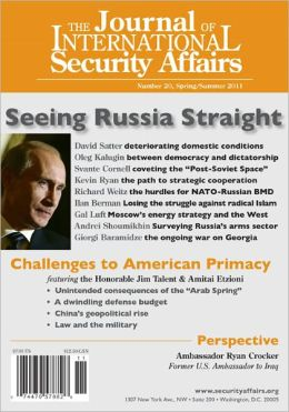 The Journal of International Security Affairs, Spring/Summer 2011