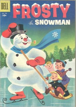 Frosty the Snowman Number 748 Childrens Comic Book