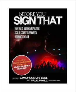 Before You Sign That