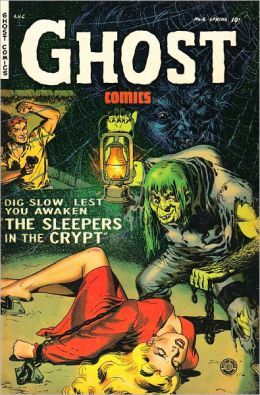 Ghost Comics Number 6 Horror Comic Book