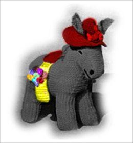 Donkey & Donkey Baby Crochet Pattern - Stuffed Donkey Pattern (#104)