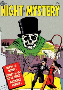Night of Mystery Horror Comic Book