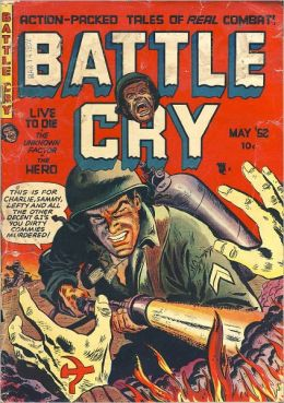 Battle Cry Number 1 War Comic Book