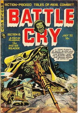 Battle Cry Number 2 War Comic Book
