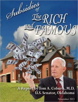 Subsidies of the Rich and Famous