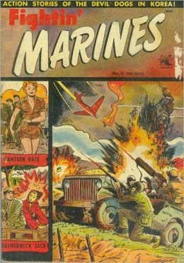 Fighting Marines Number 9 War Comic Book