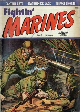 Fighting Marines Number 5 War Comic Book