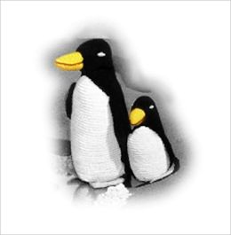 Penguin and Penguin Baby Crochet Patterns - Stuffed Penguin Patterns (#106)