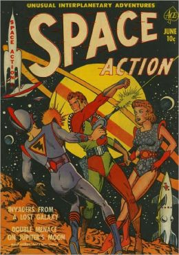 Space Action Number 1 Action Comic Book