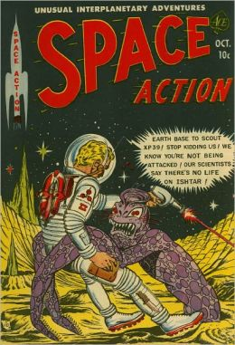 Space Action Number 3 Action Comic Book