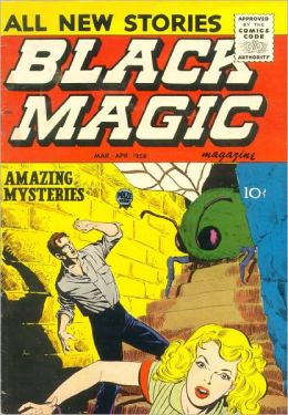 Black Magic Number 37 Horror Comic Book