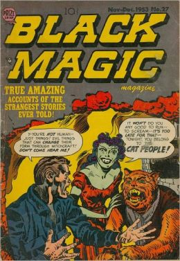Black Magic Number 27 Horror Comic Book
