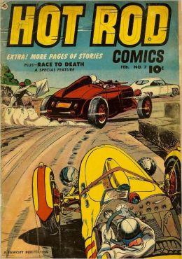 Hot Rod Comics Number 7 Car Comic Book