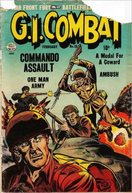 GI Combat Number 13 War Comic Book