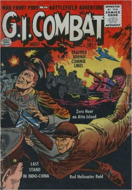 GI Combat Number 27 War Comic Book