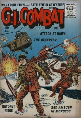 GI Combat Number 37 War Comic Book