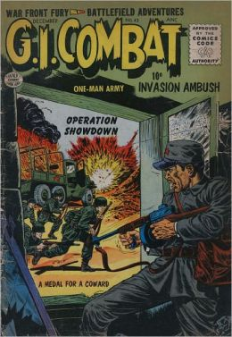 GI Combat Number 43 War Comic Book