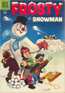 Frosty the Snowman Childrens Comic Book