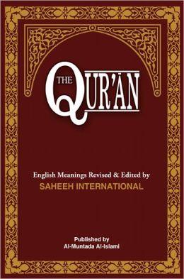 Quran english book