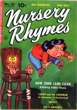 Nursery Rhymes Number 10 Childrens Comic Book