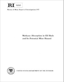 Methane Absorption in Oil Shale and Its Potential Mine Hazard