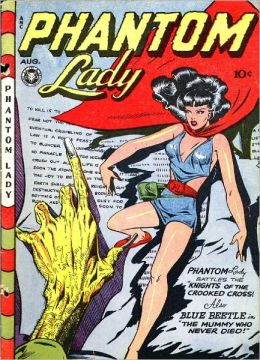 Phantom Lady Number 13 Action Comic Book