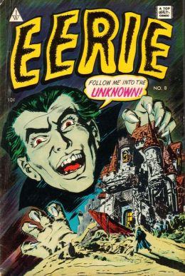 Vintage Horror Comics: Eerie No. 8 Circa 1951: Ghost of the Gorgon