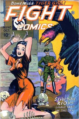 Fight Comics Number 40 Action Comic Book