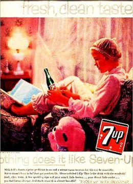 17 VINTAGE 7UP ADS!