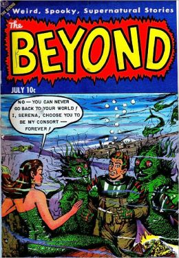 Beyond Number 21 Horror Comic Book