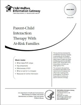 Parent-Child Interaction Therapy With At‑Risk Families