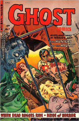 Ghost Comics Number 7 Horror Comic Book