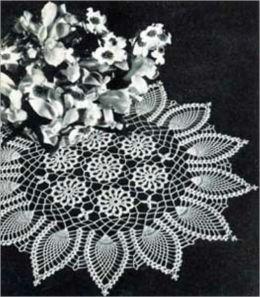 Lacey Doilie Vintage Crochet Patterns
