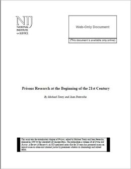 Prisons Research at the Beginning of the 21st Century