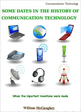 Some dates in the history of communication technology