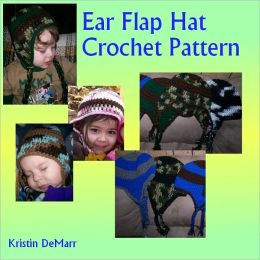 Ear Flap Hat Crochet Pattern