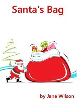 Santa's Bag: Easy Children's Phonics and Kids' Games for Christmas using short