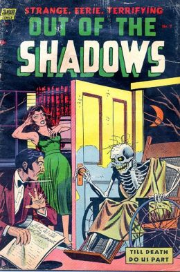 Vintage Horror Comics: Out of the Shadows No. 9 Circa 1952: The Corpse That Came To Dinner