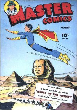 Master Comics Number 66 Superhero Comic Book